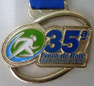 Medalha da 35a.Corrida de Reis SCS (2012)